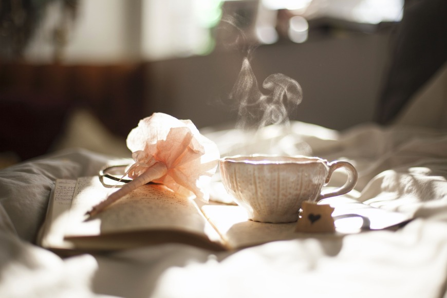 Coffee over a good book